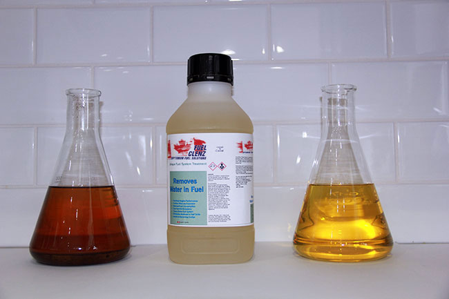 Fuel Cleanser – Water Eradicator
